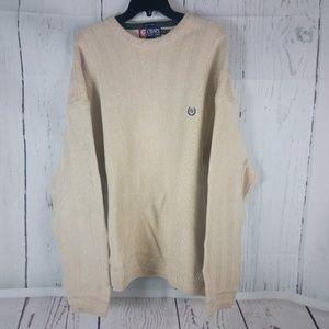 Chaps Ralph Lauren Beige Sweater XL